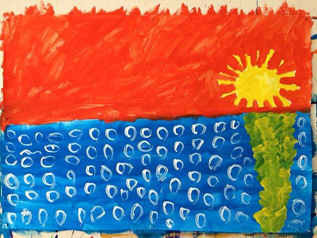 freies malen und gestalten für kinder und erwachsene