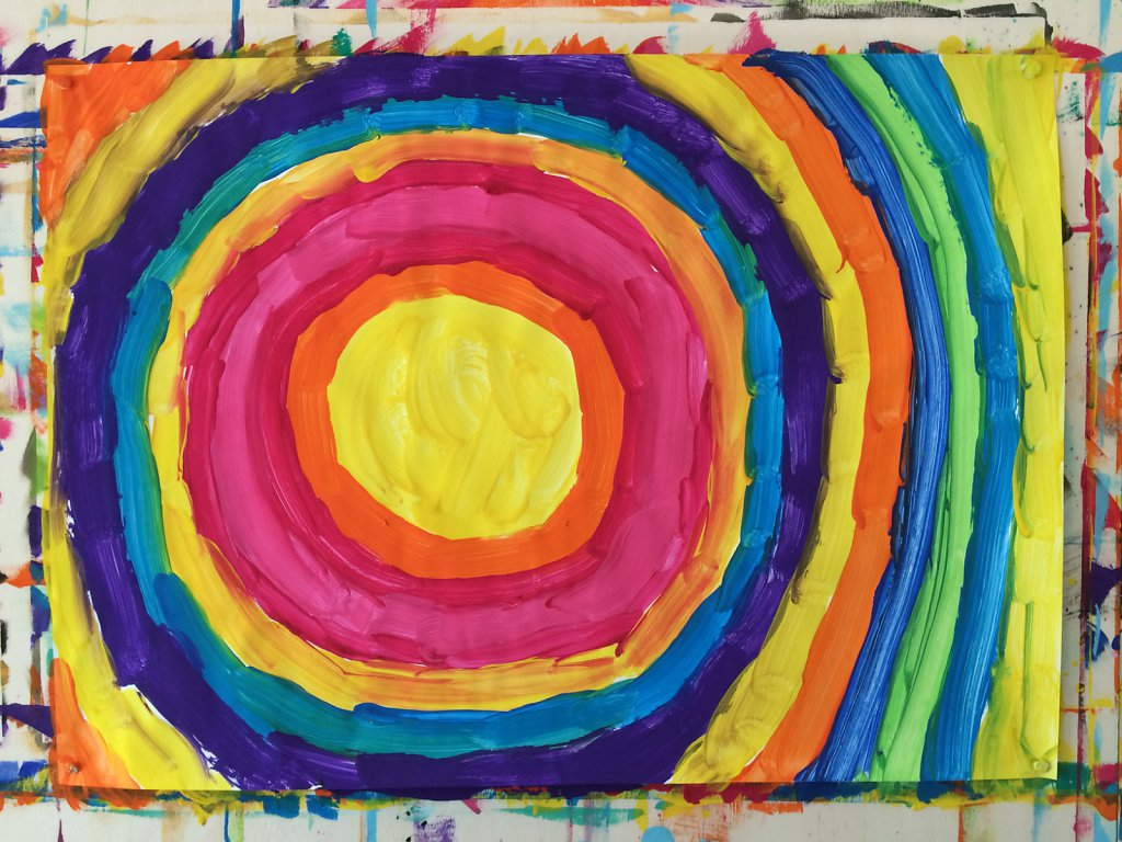 freies malen und gestalten für kinder und erwachsenegroße meister*innen
